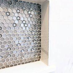 Shower Wall Niche Ideas