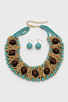 Carmelle Statement Necklace