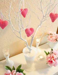 déco romantique pour la Saint Valentin