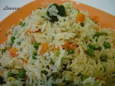Limara péksége: Tejszínes sült rizs
