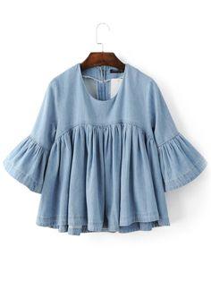 http://de.shein.com/Blue-Bell-Sleeve-Ruffle-Denim-Doll-Blouse-p-275597-cat-1733.html?url_from=deadct_Blusen_blouse160422212