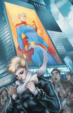 The Mighty Captain Marvel #0 by Ramon Rosanas