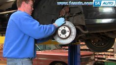 awesome How To Install Repair Replace Front Disc Brakes on Lincoln Town Car 98-02 1AAuto.com