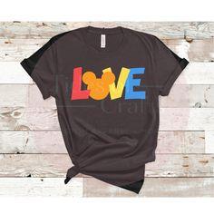LOVE • Pride Mickey Disney Love Soft Cotton Unisex, Tank Top, or Crop Top - Adult Unisex Large