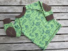 Tutoriales DIY: Cómo coser coderas a una camiseta vía DaWanda.com