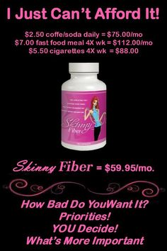 Skinny Fiber can help you achieve your weight loss goals