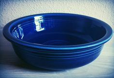 Check out this item in my Etsy shop https://www.etsy.com/listing/524254387/retro-fiesta-ware-bowl-original-cobalt