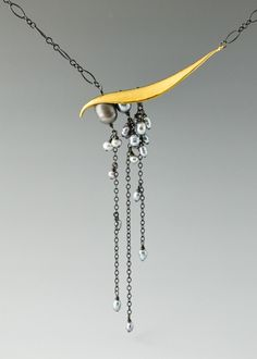 Stunning piece. I want it! Pearl is my birthstone. Catherine Grisez jewelry – pearl