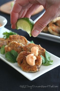 Low Carb, Gluten-Free Thai Fish Cakes - these are so tasty, a great way to get a little seafood into your diet.