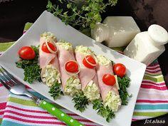 Pora na pora! 12 smakowitych propozycji z porem w roli głównej Crudite, Antipasto, Mayonnaise, European Dishes, Salad Dishes, Cooking Recipes, Healthy Recipes, Polish Recipes, Food Inspiration