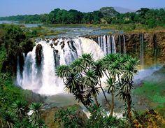 Blue Nil waterfall - Ethiopia