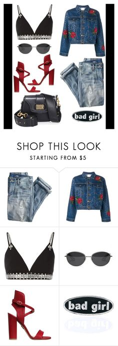 """""""😎"""" by poorvashikalra ❤ liked on Polyvore featuring J.Crew, Ashish, Givenchy, Elizabeth and James, Paul Andrew and C&D Visionary"""