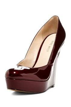 Akieta Wedge High Heel by Nine West on @HauteLook