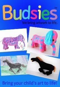 Mom Loves 2 Read: Preserve your child's special artwork with a custom created Friend from Budsies! Review & Giveaway