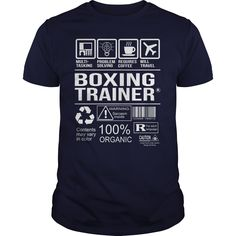 Awesome Tee For Boxing Trainer T-Shirts, Hoodies. ADD TO CART ==► https://www.sunfrog.com/LifeStyle/Awesome-Tee-For-Boxing-Trainer-103146403-Navy-Blue-Guys.html?id=41382