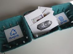 Absolutely adore this recycling sort game by No Time for Flashcards. Perfect for Earth Day.