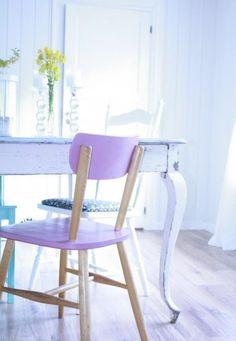...Lavender chair! #lavender