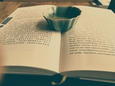 Tea and books - Mmmmmm, two of life's exquisite pleasures that together bring near-bliss. Tea Quotes, Tea And Books, Flower Tea, Chinese Tea, Tea Time, Bliss, Cups, Mugs, Quotes About Tea