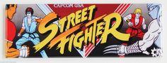 Street Fighter Marquee Fridge Magnet 1 5 x 4 5 inches Arcade Video Game Header | eBay