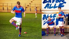 Vålerenga Fotball 2013 adidas Home and Away Jerseys