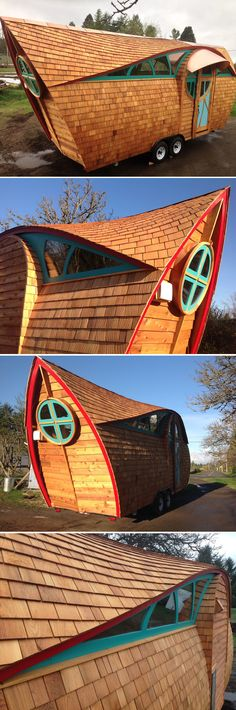 The Ark by Zyl Vardos is a stunning work of art that just happens to be a tiny house.