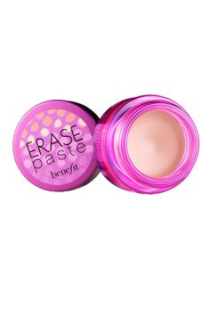 UNDERCOVER: 17 OF THE BEST CONCEALERS Benefit... A creamy, easy-to-blend concealer with pink undertones. Best For: This full-coverage formula is perfect under eyes, or in areas you want to brighten.  Benefit Erase Paste, $26; sephora.com