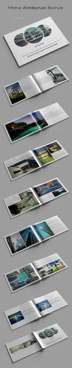 Buy Minimal Architecture Brochure Templates by azadcsstune on GraphicRiver. Minimal Architecture Brochure Templates File Size : 16 Pages Completely editable, print ready Text/Font . Brochure Layout, Brochure Design, Brochure Template, Minimal Architecture, Architecture Portfolio, Luxury Business Cards, Stationary Design, Publication Design, Print Templates