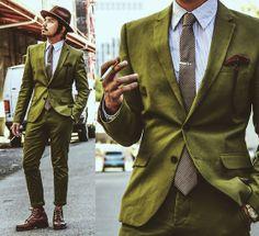 H&M Suit, J.Crew Tie, Polo Ralph Lauren