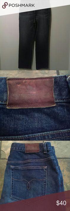!TILL MIDNIGH!Lauren straight cut dark blue jeans Ralph Lauren jeans dark blue. Ralph Lauren Jeans Straight Leg