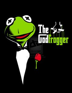 Kermit has an offer you can't refuse Frog Pictures, Funny Animal Pictures, Funny Photos, Kermit And Miss Piggy, Kermit The Frog, Les Muppets, Rick And Morty Poster, Frog Illustration, Funny Frogs