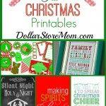 25 Free Christmas Printables