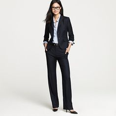 Nothing beats a good JCrew suit.  Makes me miss working.