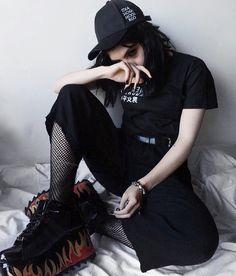 Rocker Chic, Youtubers, Black Jeans, Punk, Shirt Dress, Outfits, Shirts, Clothes, Dresses