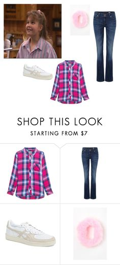 """DJ Tanner"" by alexandra-birky ❤ liked on Polyvore featuring Rails, Lee, Asics and LA: Hearts"