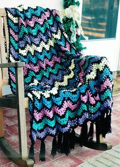 Ravelry: Project Gallery for Spring Ripple pattern by Anne Halliday