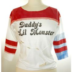 Harley Quinn Suicide Squad Inspired Daddy's Lil Monster Shirt