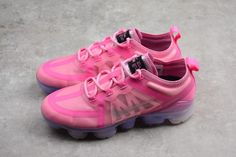 840803e73e3af Womens Nike Air VaporMax 2019 Pink Silver AR6632-600 Online To Buy-3 Cheap