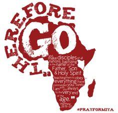 Kenya '14 Global Project Fundraiser shirt design - zoomed