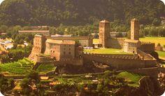 Castello di Sasso Corbaro - Lugano, Switzerland