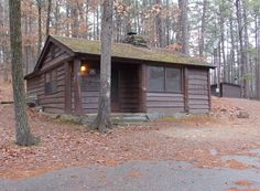 State Park Cabin #14 - Cabin located inside Beavers Bend State Park. Cabin for Four, Two Twin Beds, Queen Sofa Bed, Non-Smoking, Pet ...