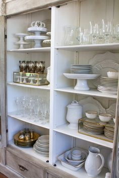 How to style your china cabinet