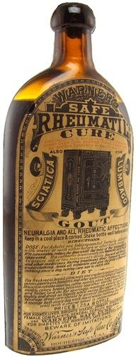 Warners Safe Rheumatic Cure with Original Label