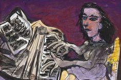 The Pianist, Ceri Richards. English Painter, Printmaker (1903 - 1971)