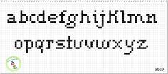 Monograma abc9 (minúsculas)