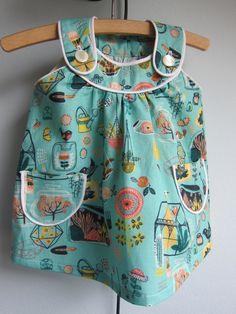 Hidden Garden ecological dress US size 3T dress by BeesontheBonnet
