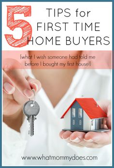 5 Things to Know Before Buying a Home - Getting your first house is a wonderful experience. It's exciting yet scary at the same time! Here are my best tips for first-time home buyers....all the things I wish I had known!