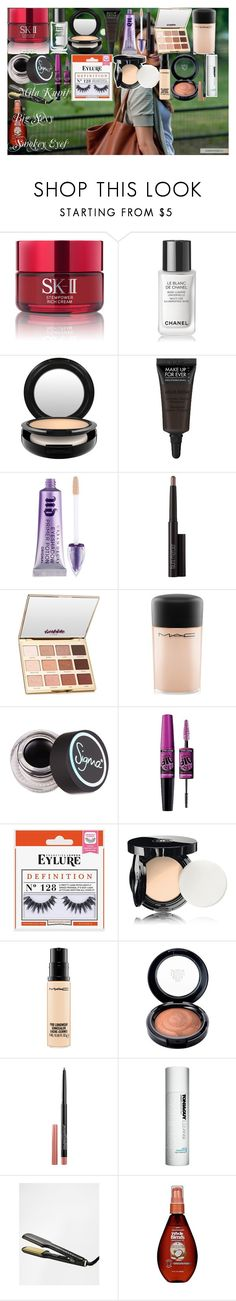 Mila Kunis Big Sexy Smokey Eyes by oroartye-1 on Polyvore featuring beauty, Chanel, tarte, Borghese, MAC Cosmetics, Laura Mercier, MAKE UP FOR EVER, Urban Decay, Sigma and Maybelline