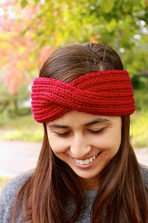 This headband pattern is great for all types of yarn. It is worked with two strands held together, so you can use two skeins of the same color or try two different colors!