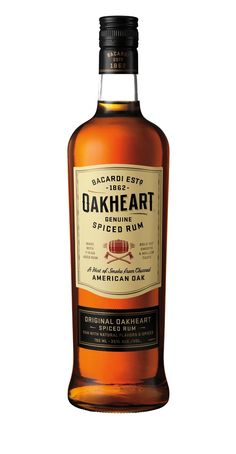 The label now embodies both the OAKHEART brand and Americana spirit, with the new icon depicting a barrel with flames extending from each end over a pair of crossed axes – an homage to the charred American oak barrels in which OAKHEART is mellowed, and that are coopered in the American heartland.