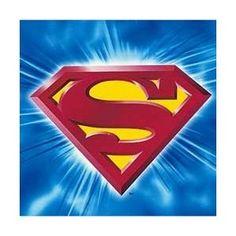 Superman Returns Beverage Napkins - 16 Count (Toy)